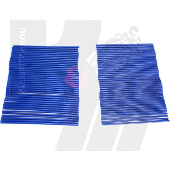 Spoke cover blue