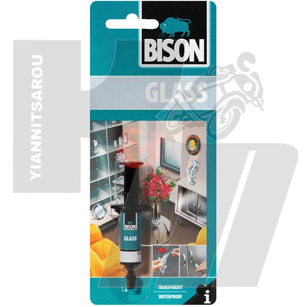 bison glass GLASS ΚΟΛΛΑ ΓΙΑ ΔΙΑΦΑΝΕΣ ΓΥΑΛΙ 2ml
